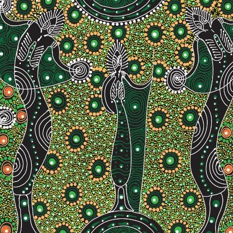DANCING SPIRIT GREEN