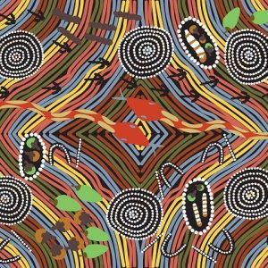 Rainbow-Snake-Black-by-Peggy-Brown